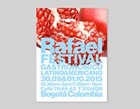 El Rafael. Bogotá. Festival gastronómico.