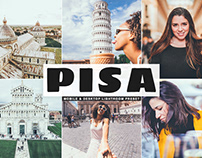 Free Pisa Mobile & Desktop Lightroom Preset