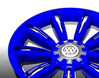 Wheel Cover Modeling