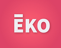 EKO // BRANDING & APPLICATION DESIGN // WIP