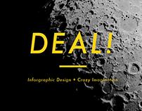 DEAL!  - Information Design + Crazy Imagination