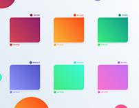 UI Gradients Palette