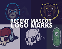 Mascot logo marks