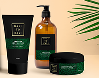 Bali to Cali - Product Design & Branding