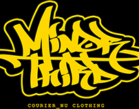 Minor 3rd: Design for Courier_Nu Clothing