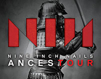 NINE INCH NAILS - ANCESTOUR FONT