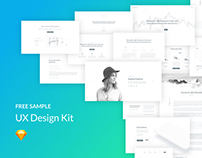 UX Design Kit (free sample)