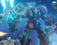 Transformers: Prime Wars Trilogy (2016)