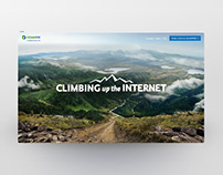 COSMOTE CLIMBING up the INTERNET