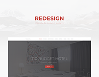 Redesign of Website for Hotel in Iceland