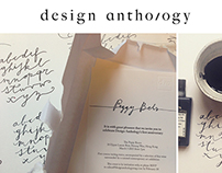 DESIGN ANTHOLOGY MAGAZINE_calligraphy invitation
