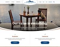 Maine Made Furniture Website