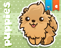 MokiPlanet's Funny Puppies