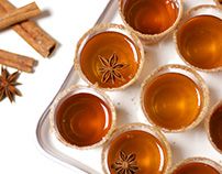 Apple Cider Jell-O Shots