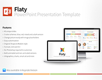 Flaty PowerPoint Presentation Template