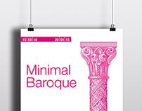 "Advertising-Exposición ""Minimal Baroque"""