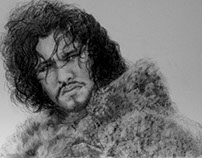 Art Work by Fans of Jon Snow