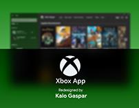 Redesign Xbox App - Fluent Design