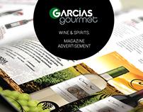 Garcias Gourmet - Magazine Ads