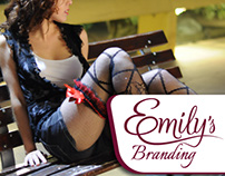 Emily's Clothes Branding process