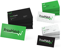 PriceMatch's business cards