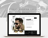 """PERSOL"" Website Redesign Concept"