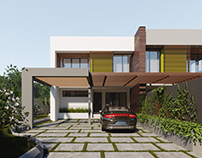 ADENTAN TOWNHOUSES - INTERIOR DESIGN + 3D VISUALIZATION