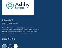 Ashby Partners Business Card Mockup