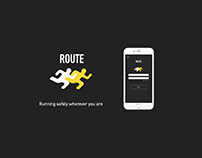ROUTE Running App