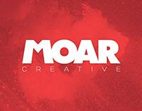 MOAR Creative Agency Branding