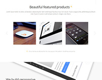 Simplicity - WordPress Theme for Startup Business