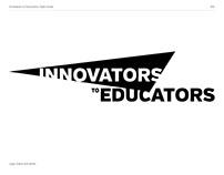 Innovators to Educators Branding/Identity