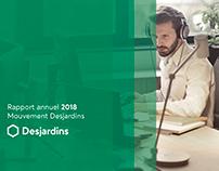 Rapport annuel Desjardins