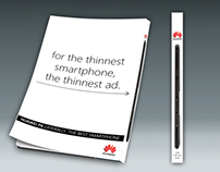 """THE THINNEST AD EVER"""