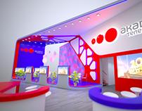 AKADO. Exhibition Stand Design