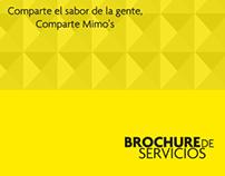 Brochure de Servicios Helados Mimo`s