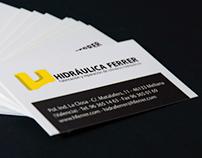 Hidráulica Ferrer Corporate Identity