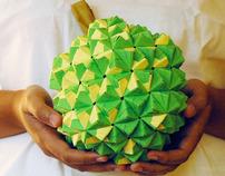 Durian Origami x Jackurian