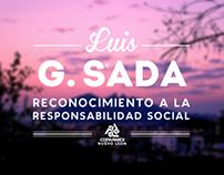 Reconocimiento Luis G. Sada - Branding