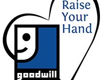 Goodwill Raise Your Hand Logo
