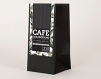 Packaging cafe Colombia