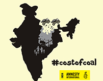 Amnesty Int'l India - Coal Report | Campaign Graphic