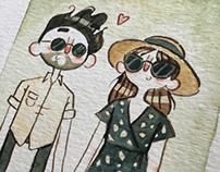 Couples Portraits Summer 2016
