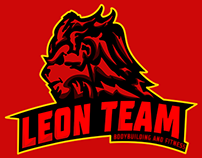 Leon Team Bodybuilding Logotype