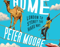 Peter Moore travel writers new Book covers