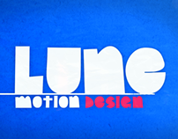 Sound Design for LUNE's logo ident animation