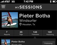 MySessions App