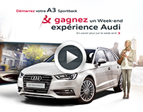 Audi A3 Expérience | Activation | Created at Emakina