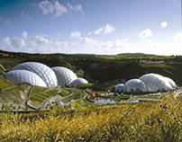 The Eden Project in Cornwall, UK by Grimshaw