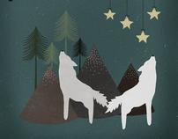 Artwork: Raised Among Wolves